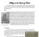Violence of the Protestant Reformation--Informational Text Worksheet