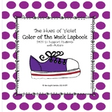 Violet Color of the Week Lapbook