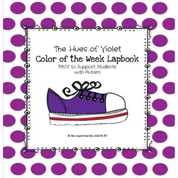 Violet Color of the Week Lapbook