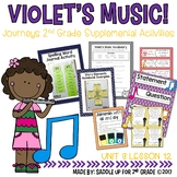 Violet's Music Journeys 2nd Grade Supplemental Activities