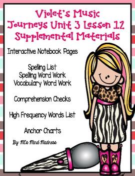 Violet's Music Journeys Unit 3 Lesson 12