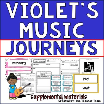 Violet's Music Journeys Second Grade Unit 3 Lesson 12 Activities & Printables