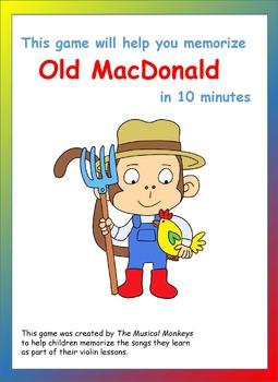 Violin Games - Old MacDonald had a Farm