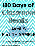 12 DAY SAMPLE: 180 Days of Classroom Beats - Level A - Par