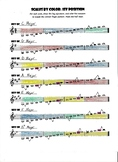 Violin Scales by Color