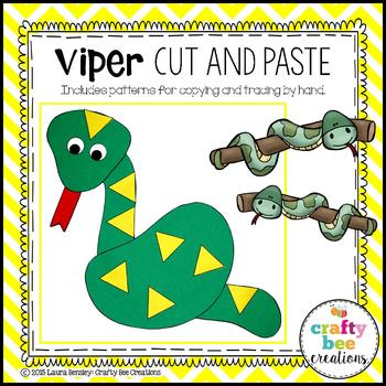 Viper Snake Cut and Paste