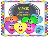 Vipkid Dino Hearts