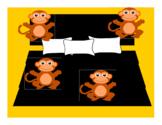 Vipkid Palfish Gogokid Monkeys Jumping Reward  Props Bulletin Board Decoration