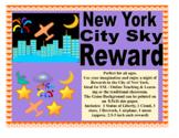 Vipkid Palfish Gogokid New York City Sky Reward  Props Bulletin Board Decoration