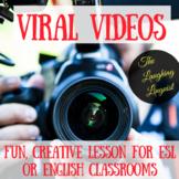 Viral Videos - Worksheet for Teenage & Adult ESL/English Learners