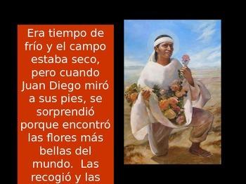 Virgen de Guadalupe Story in Spanish