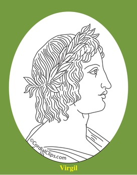 Virgil Clip Art, Coloring Page, or Mini-Poster