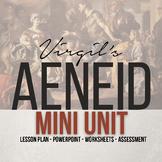 Virgil's Aeneid Mini Study | Complete Lesson Plan & Guided Reading Powerpoint