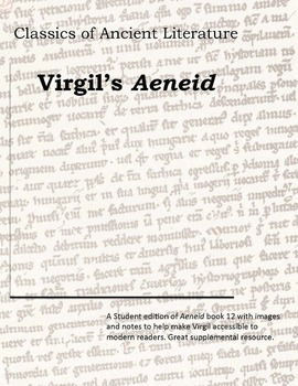 Virgil's Aeneid: Reading Enrichment Activity