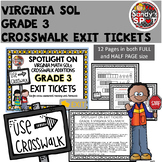 Virginia 2016 SOL CROSSWALK ADDITIONS Exit Tickets Grade 3 Math