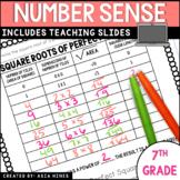 Virginia 2016 Standards Math 7 Unit 1 Numerical Reasoning Number Sense Notes