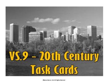 Virginia 20th Century SCOOT / Task Cards (VS.9)