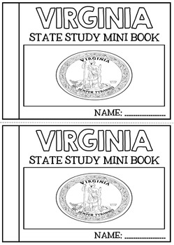 Virginia State Study Booklet - Virginia Facts and Information