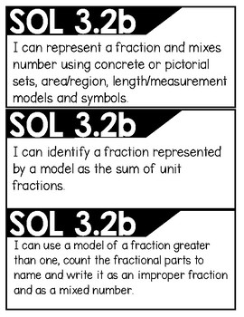 Virginia 3rd Grade Mathematics I Can Statements