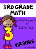 3rd Grade Math SOL Workbook