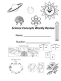 Virginia 4th and 5th Grade Science Review - 30 Weeks
