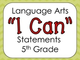 Virginia 5th Grade Language Arts I Can Statements
