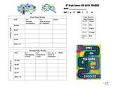 Virginia 6th Grade Science Notebook Tracker