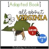 Virginia Adapted Books (Level 1 & Level 2) | Virginia Stat