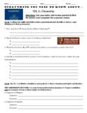 Virginia Civics SOL 3 Review Handout
