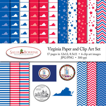 Virginia Clip Art