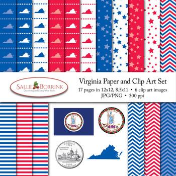 Virginia Clip Art