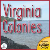 Virginia Colonies Interactive Notebook