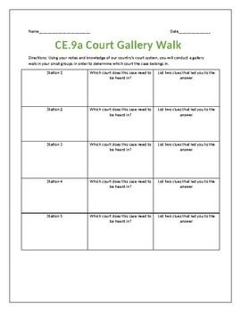 Virginia Court Gallery Walk