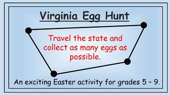 Virginia Easter Math Activity