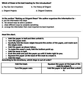 Virginia Functional Text for 4th Grade