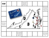 Virginia Studies Geography, American Indians, & Economy File Folder Game