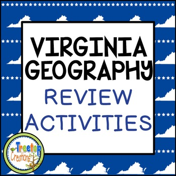 Virginia Regions Geography Review