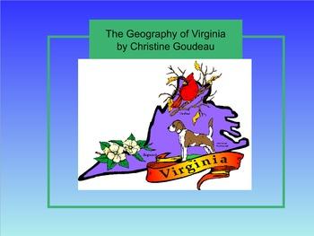 Virginia Studies SMARTboard Lesson - VA Geography - VS.2