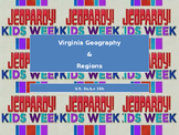 Virginia (VA) Geography and Regions SOL Jeopardy Review