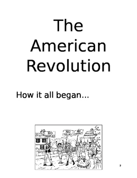 Virginia History Guided Notes-Revolutionary War
