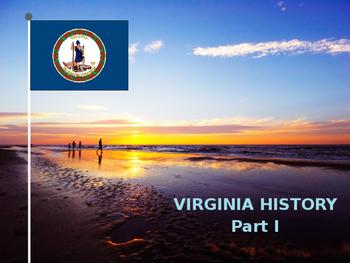 Virginia History PowerPoint - Part I