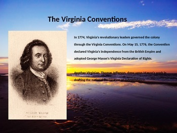 Virginia History PowerPoint - Part II
