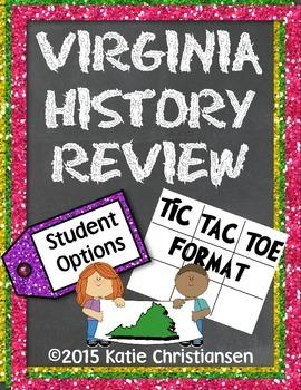 Virginia History Review Homework Sample
