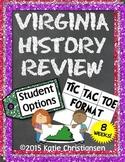 Virginia History Review Homework