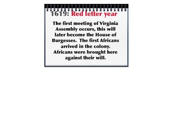 Virginia History Timeline