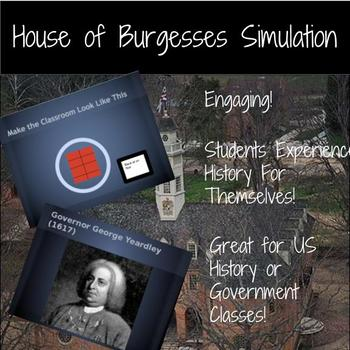 Virginia House of Burgesses Simulation