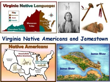VA Studies: Indians and Jamestown Lesson-study guide, exam prep