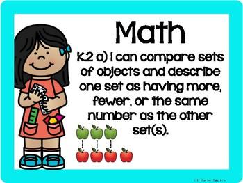 Virginia Kindergarten Standards the BUNDLE - Still Growing!