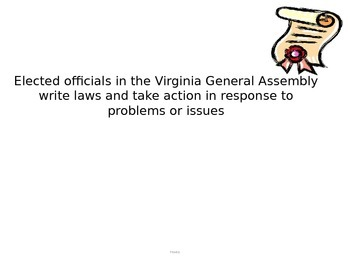 Virginia Lawmaking Process PPT (CE.7c)