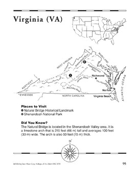 Virginia (Map & Facts)